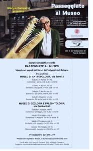 Ai Musei Universitari con Giorgio Comaschi e Fausto Carpani
