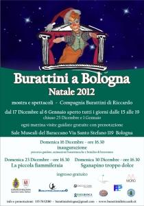 Burattini a Bologna Natale 2012 Mostra e Spettacoli