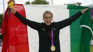 Jessica Rossi vince l'oro