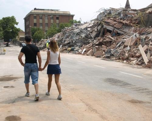 Terremoto in Emilia nelle foto di Paolo Ferrari