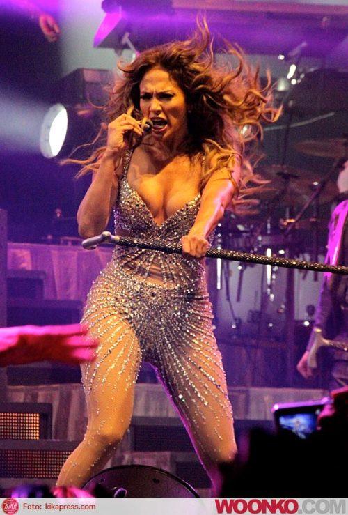 Jennifer Lopez in concerto a Bologna