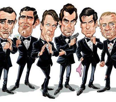 Esce l'ultimo film di James Bond : Skyfall, una carrellata di Bond