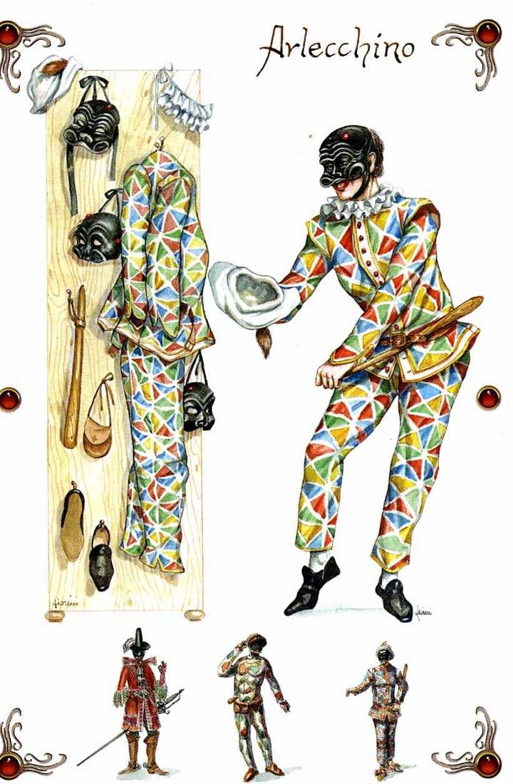 la commedia dell arte e le maschere mistic media blog