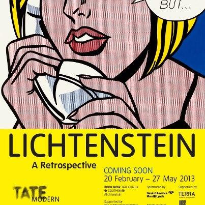 Roy Lichtenstein a Parigi
