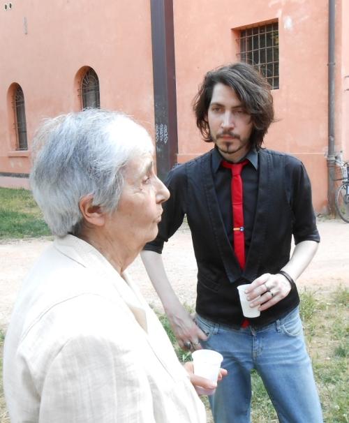 Emanuela Sforza e Alberto Gross