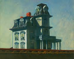 casa bates di edward Hopper