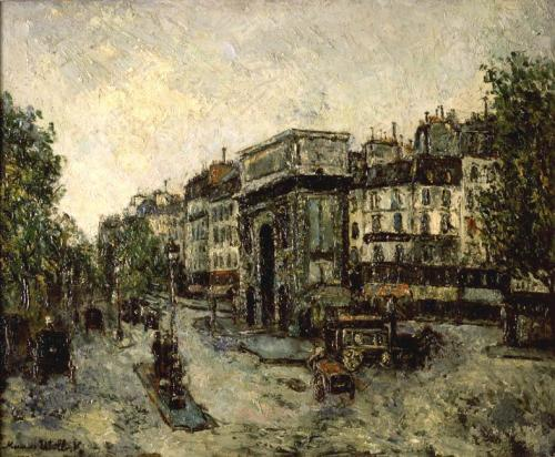 Utrillo_Maurice-Porte_Saint-Martin_in_Paris