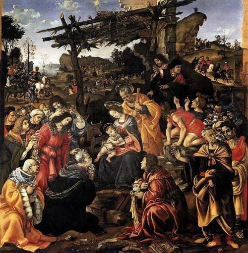 Filippino Lippi _L'adorazione dei magi