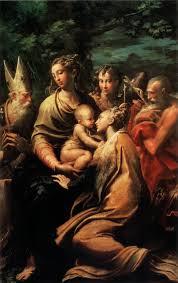 Parmigianino Adorazione dei magi