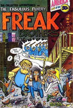 Freak_Brother_Copertina fumetto