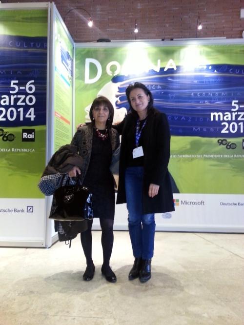 Fulvia Sisti giornalista Roberta Ricci  blogger
