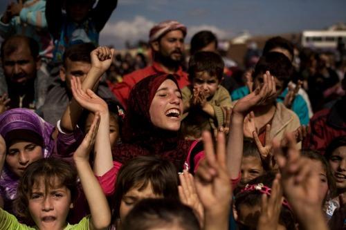 APTOPIX Mideast Syria
