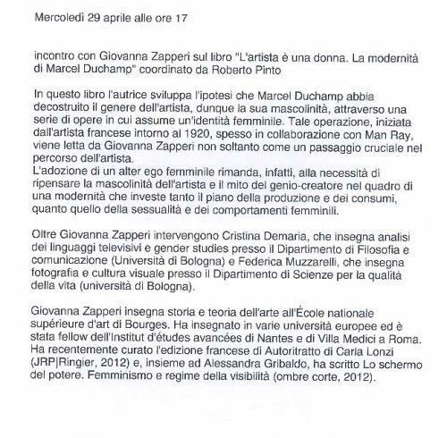 Marcel Ducamp testo
