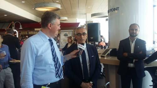 il giornalista Spada intervista Enrico Postacchini