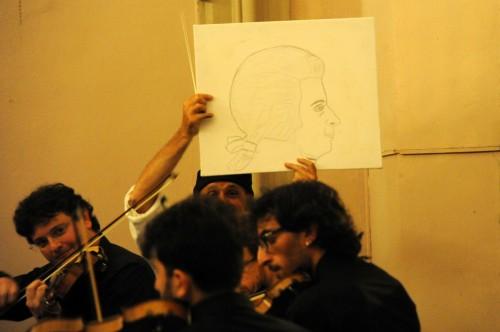 DARIO GAMBARIN ARTISTA PERFORMANCE ALLE STANZE