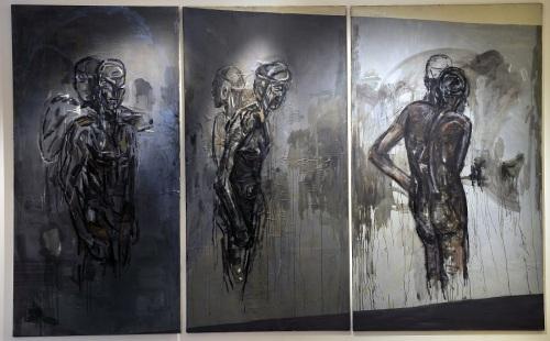 7-piero-manai-i-quadri-nello-studio-1984-85